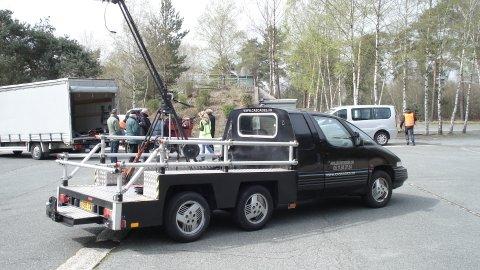 Travelling sur le tournage d'une publicité pour Renault