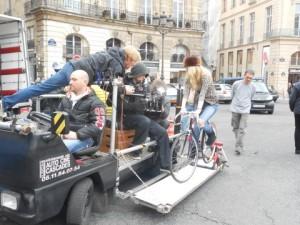 """Travelling sur le tournage d'une publicité pour """"Cartier"""""""