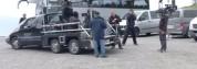Voiture travelling sur le tournage d'une publicité Mercedes allemande